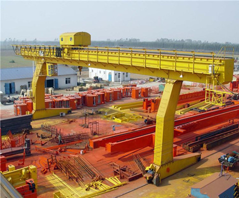 professional double girder gantry crane for sale