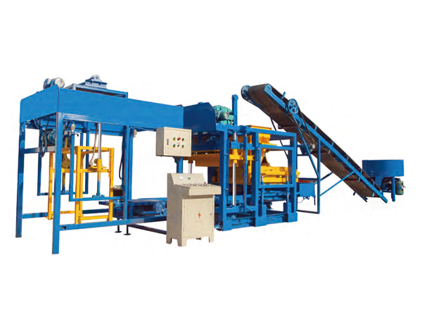 QT12-15 automatic concrete block making machine
