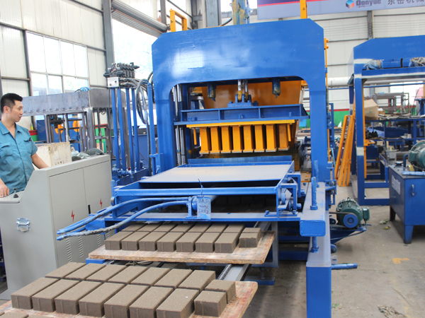 manufacturers of concrete block machine