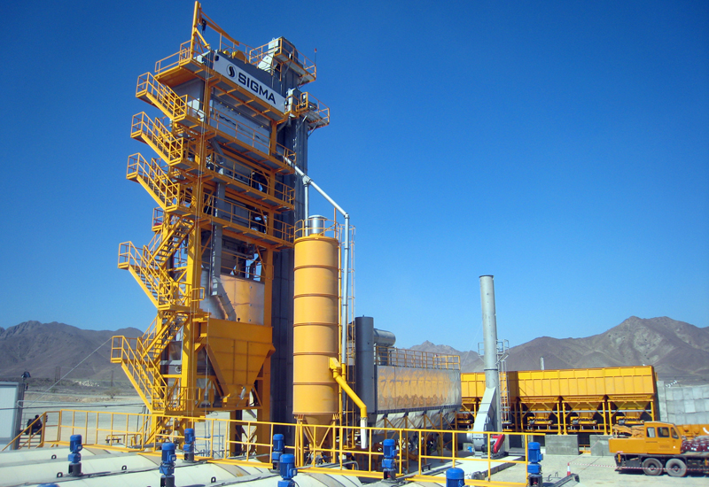 easy operation of mobile asphalt plant